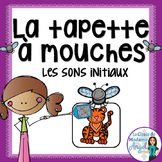 Son initial:  French Beginning Sounds Game - La tapette à mouches