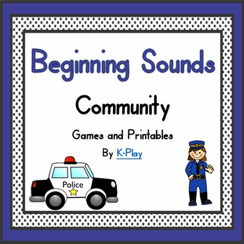 Beginning Sounds Games and Printables -- Community
