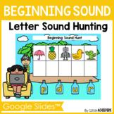 Beginning Sounds Google Slides™ - Kindergarten Distance Learning