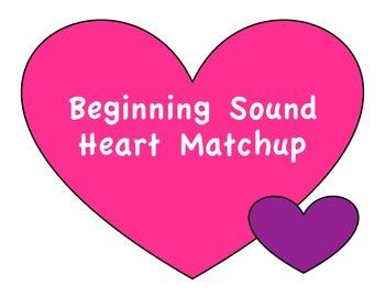 Beginning Sounds Heart Matchup