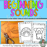 Beginning Sounds Hole Punch Cards