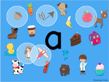 Beginning Sounds Hunt (Great for Google Classroom)