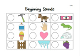 Beginning Sounds Identification Activity