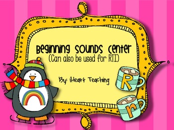 Beginning Sounds Identification Center