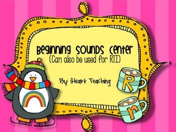 Beginning Sounds Identification Center