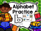 Beginning Sounds Identification Letters Cut and Paste Worksheets