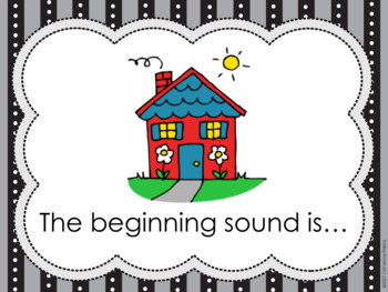 Beginning Sounds Interactive Answer and Check