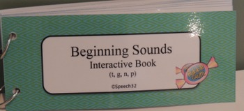 Beginning Sounds Interactive Book 2