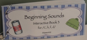 Beginning Sounds Interactive Book 3
