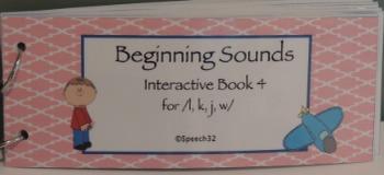 Beginning Sounds Interactive Book 4