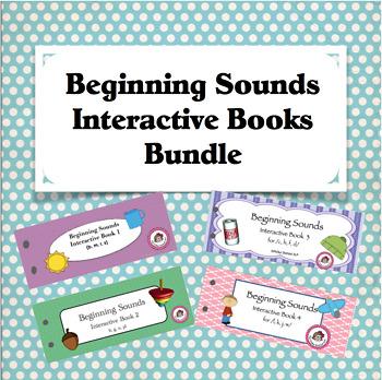 Beginning Sounds Interactive Bundle