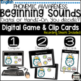 Beginning Sound Interactive ELA File, engage students in p