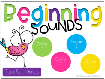 Beginning Sounds Interactive Game