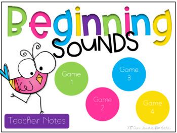 Beginning Sounds Interactive Game