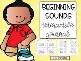 Beginning Sounds Interactive Journal