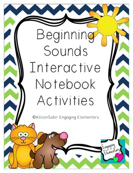 Beginning Sounds Interactive Notebook Activities