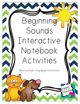 Beginning Sounds Interactive Notebook Activities