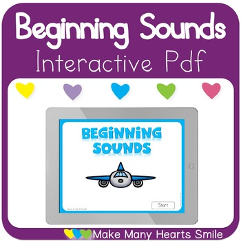 Beginning Sounds Interactive Pdf