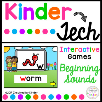 Beginning Sounds {Interactive Game}