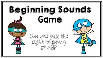 Beginning Sounds Interactive PowerPoint