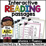 Beginning Sounds Interactive Reading Passages