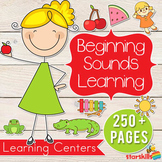 Beginning Sounds Learning Centers