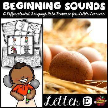 Beginning Sounds - Letter E