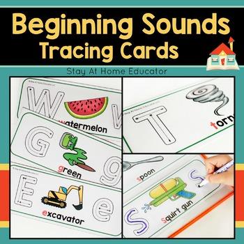 Beginning Sounds Letter Formation Cards