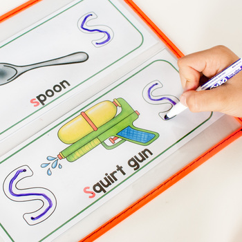 Beginning Sounds Tracing Cards - Letter Formation Cards