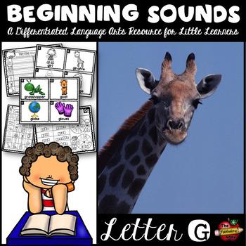 Beginning Sounds - Letter G