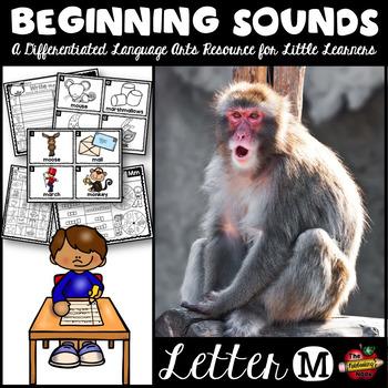 Beginning Sounds - Letter M