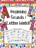Beginning Sounds / Letter Match  {Ladybug Learning Projects}