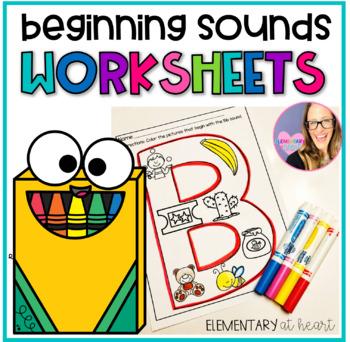 Beginning Sounds Identification- Alphabet Letters