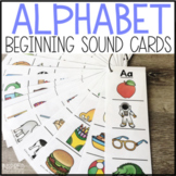 Beginning Sounds Letter Picture Strips - Letter Sound Disc