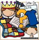 Beginning Sounds - Letter Qq | Scribble Clips Clipart
