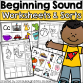 Beginning Sounds Picture Sorts and Worksheets