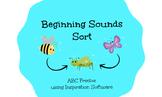Beginning Sounds Letter Sort - ABC Freebie!
