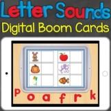 Beginning Sounds, Letter Sounds Match Digital Boom Cards D