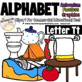 Beginning Sounds - Letter Tt | Scribble Clips Clipart