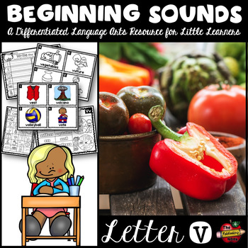 Beginning Sounds - Letter V