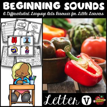 Beginning Sounds - Letter V