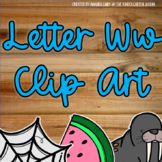 Beginning Sounds - Letter Ww | Scribble Clips Clipart