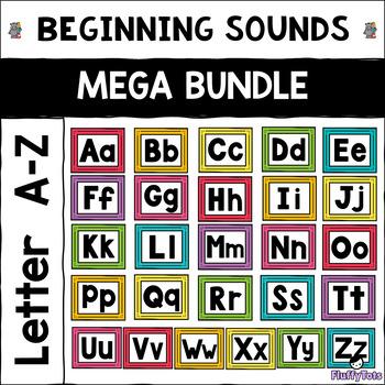 Beginning Sounds Letter of The Week : MEGA BUNDLE : Letter A-Z