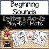 Beginning Sounds: Letters A-Z Play-Doh Mats
