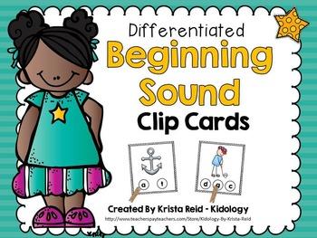 Beginning Sounds - Literacy Centre - Games - Activities -