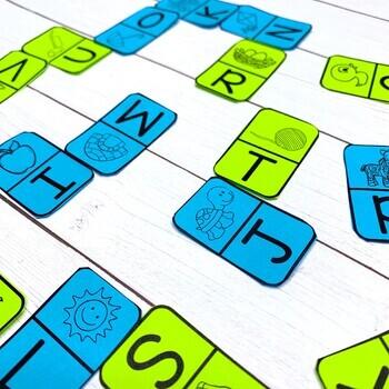 Beginning Sounds Dominoes (Literacy Center)