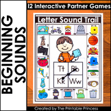 Beginning Sounds   Literacy Games for Kindergarten