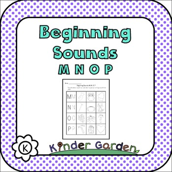 Beginning Sounds: MNOP