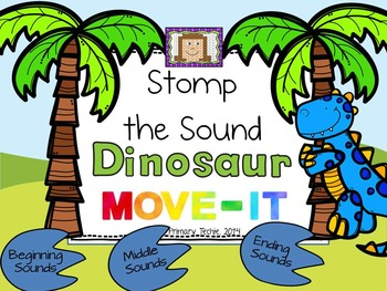 Beginning, Middle, and Ending Sounds MOVE IT! Stomp the So