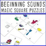 Beginning Sounds Literacy Center Games